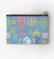 Pixel monsters  Studio Pouch
