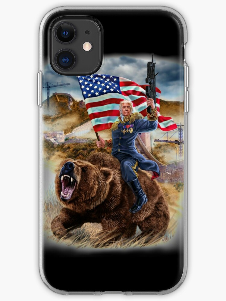 Donald Trump Build A Wall iphone case