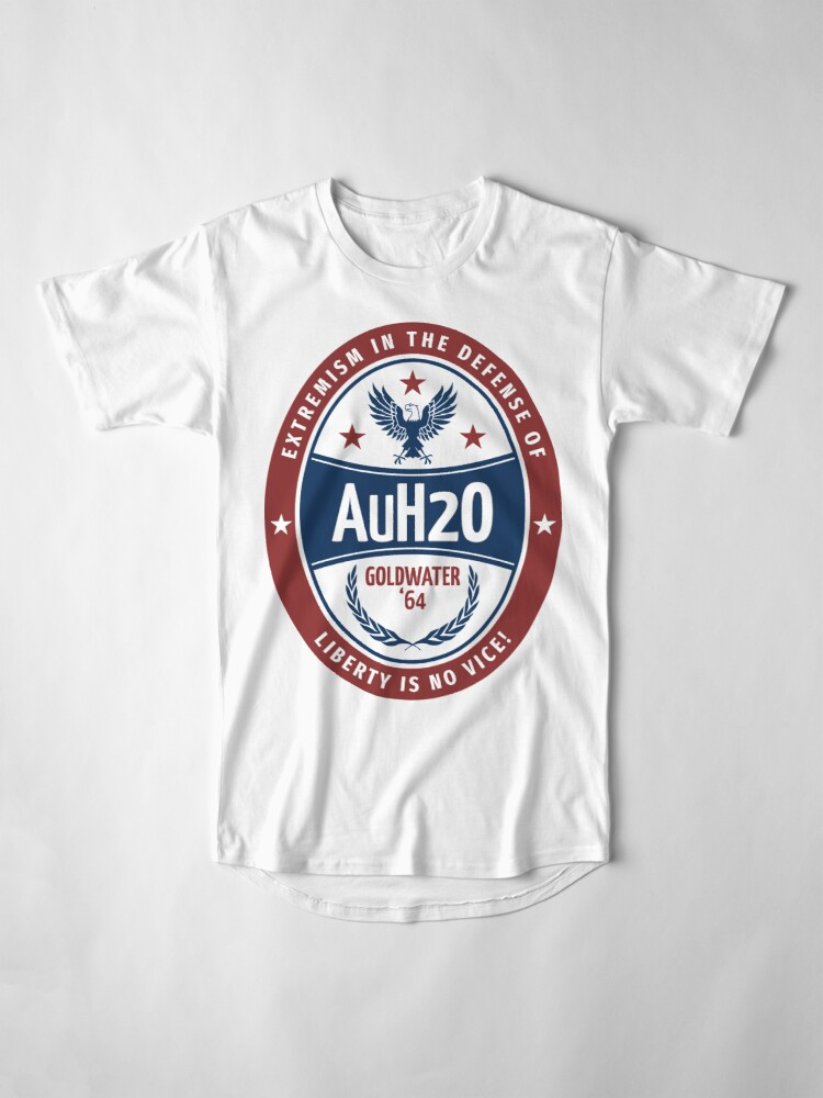 """Barry Goldwater AuH20"" T-shirt by Menofarms 