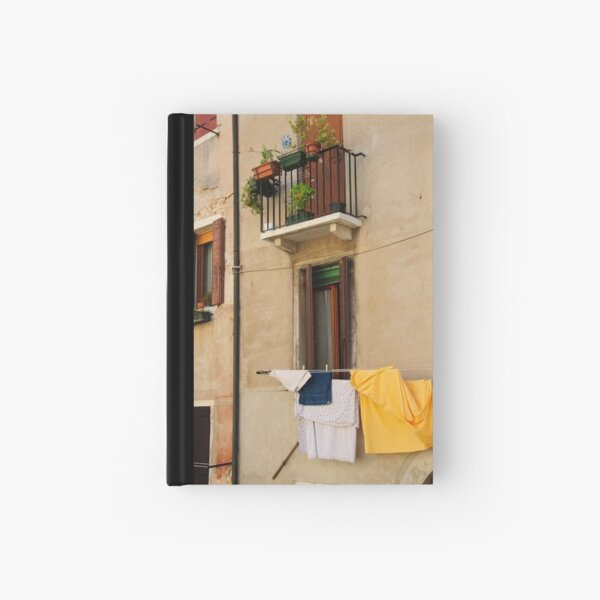 Laundry Day Hardcover Journal