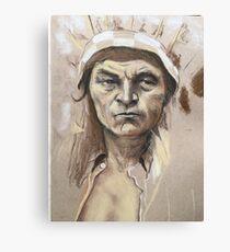 Proud Chief  Canvas Print