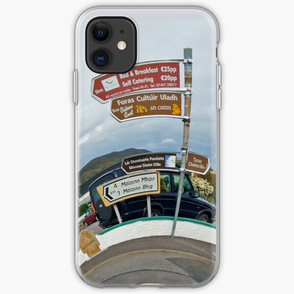 Glencolmcille - the man who missed the bus iPhone Soft Case