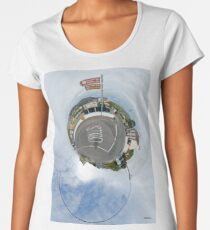 Glencolmcille - the man who missed the bus Women's Premium T-Shirt