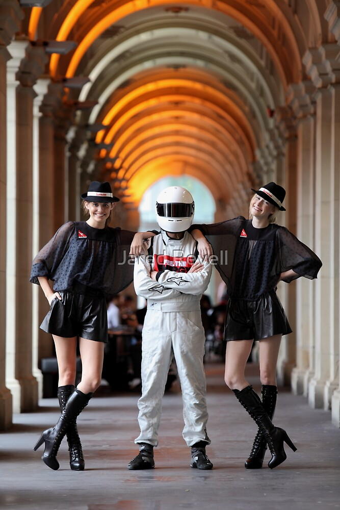 Grid Girls @ Melbourne GPO by Jared Revell