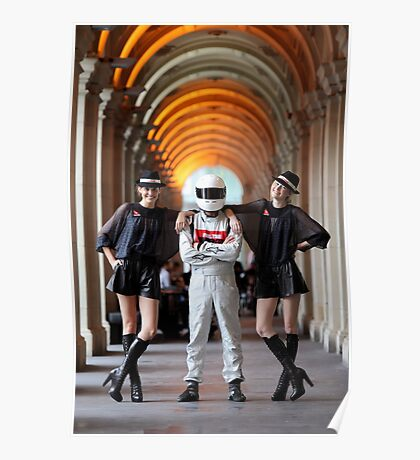 Grid Girls @ Melbourne GPO Poster