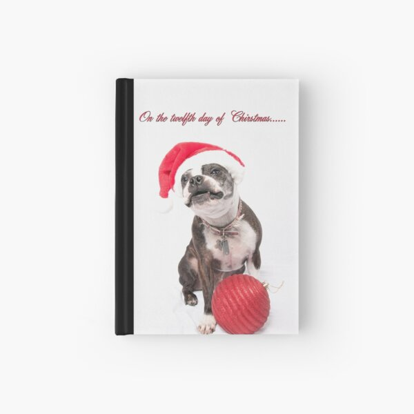 Twelve days of Christmas........ Hardcover Journal