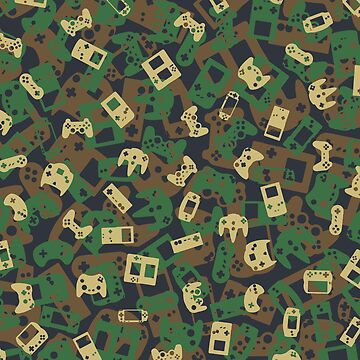 Gamer Camo WOODLAND by GrandeDuc