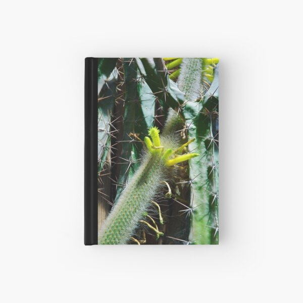 Cactus Buds Hardcover Journal