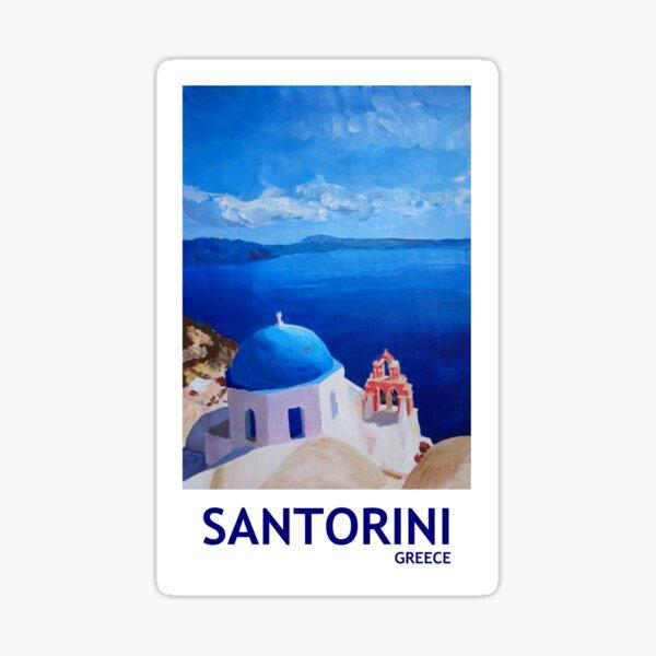 Santorini, Greece - View from Oia Sticker