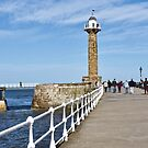 Whitby Lighthouse by John (Mike)  Dobson