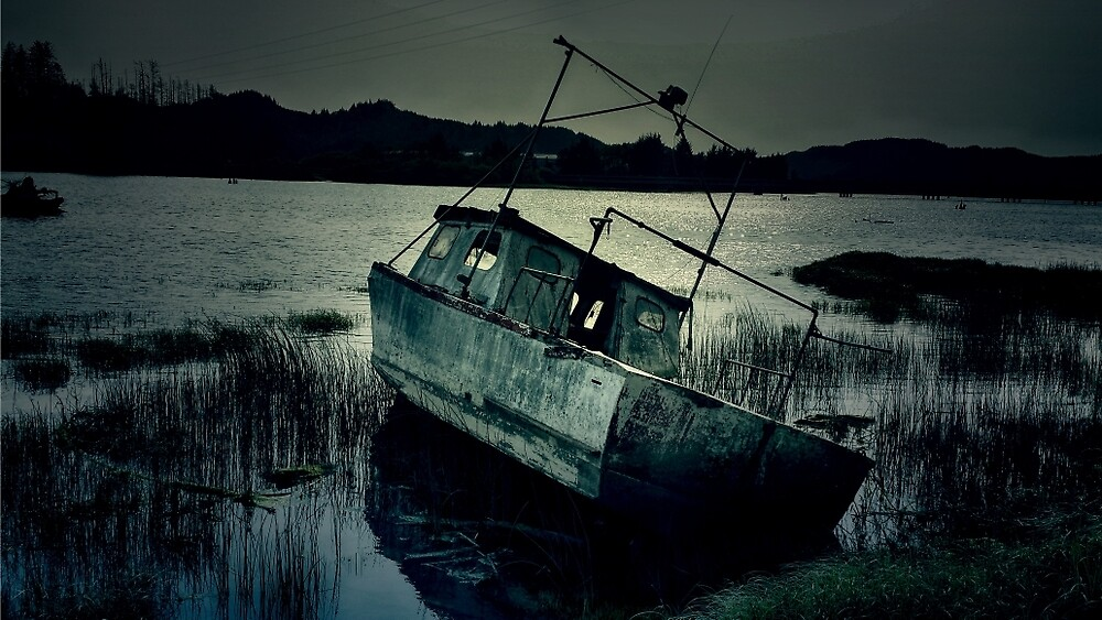Ghost Boat by Michelle Lofing