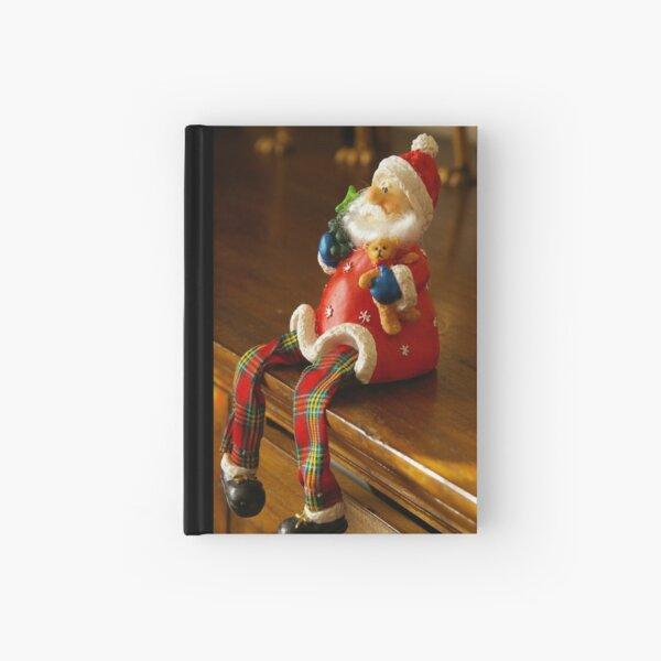 Santa Pause Hardcover Journal