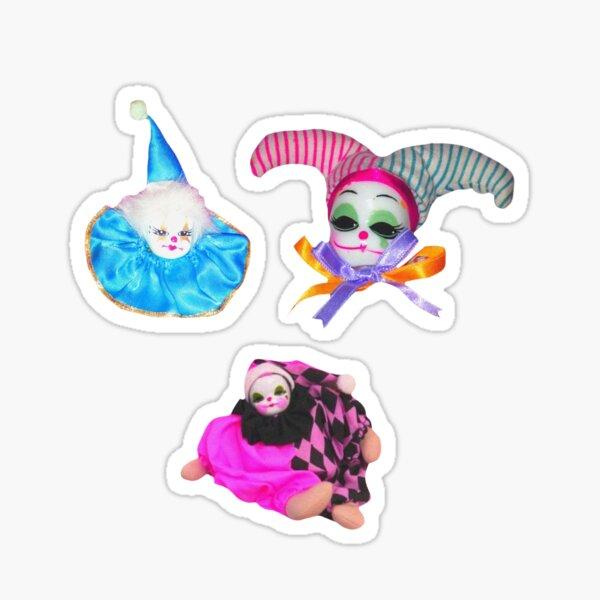 Clowns - sticker pack Sticker