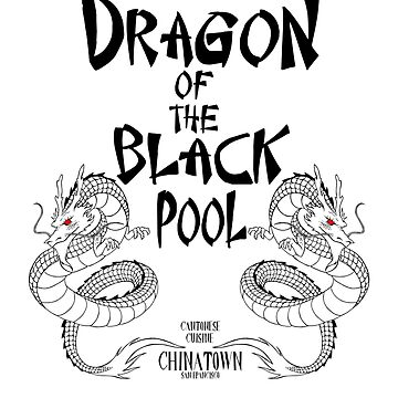 Dragon of the Black Pool by chazy73