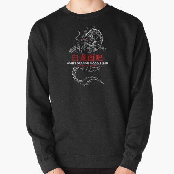 White Dragon Noodle Bar Pullover Sweatshirt