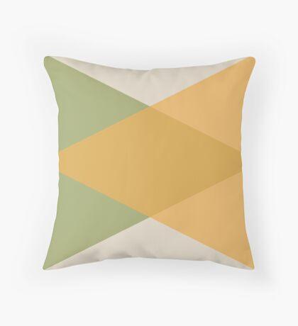 Mediados de Siglo - Amarillo Verde Cojín de suelo
