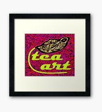 Tea Art - Liu An Gau Pian  Framed Print