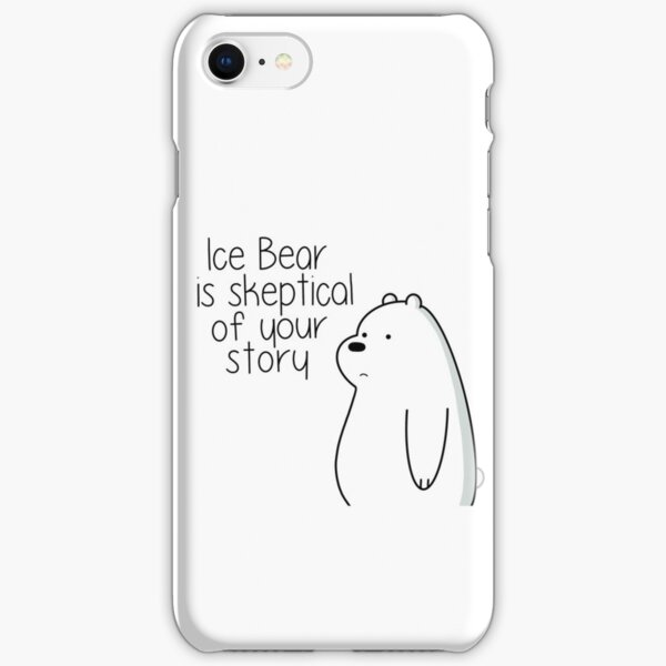 Ice Bear iPhone Snap Case
