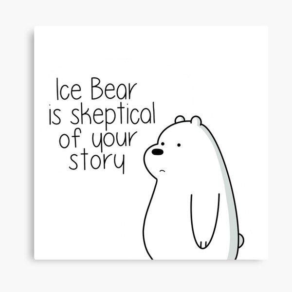 Ice Bear Canvas Print