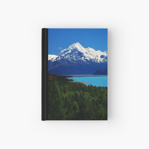 Aoraki and Pukaki. Hardcover Journal