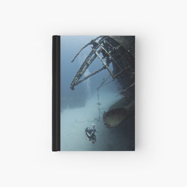 Wreck Dive Hardcover Journal