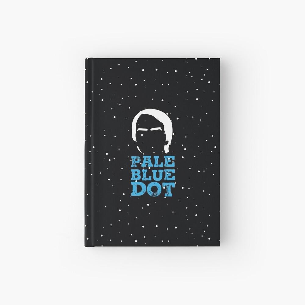 Hellblauer Punkt Notizbuch