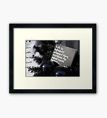 Infintely Stranger Framed Print