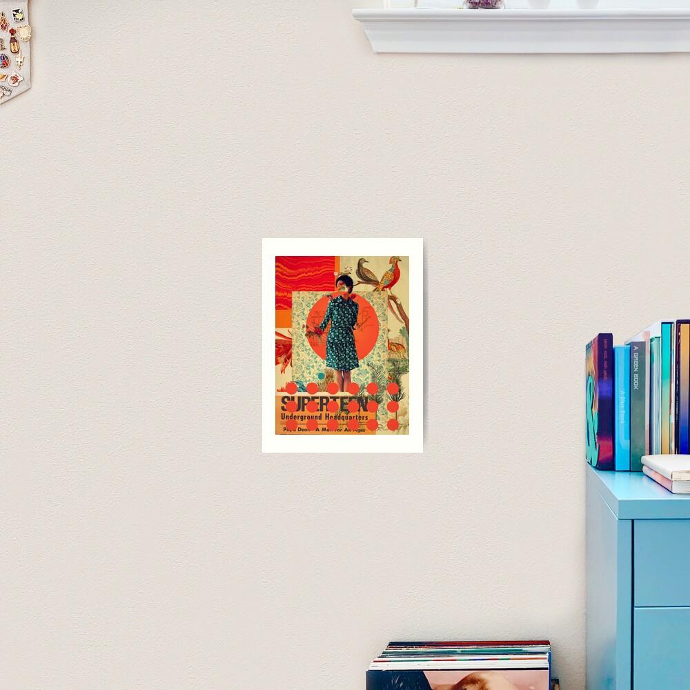 Superteen Art Print