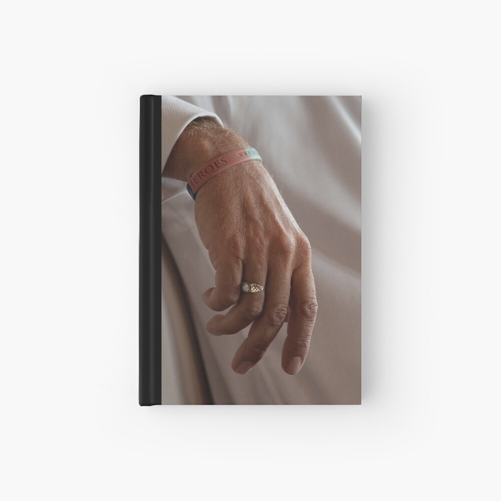 The Hand of Rud Hardcover Journal