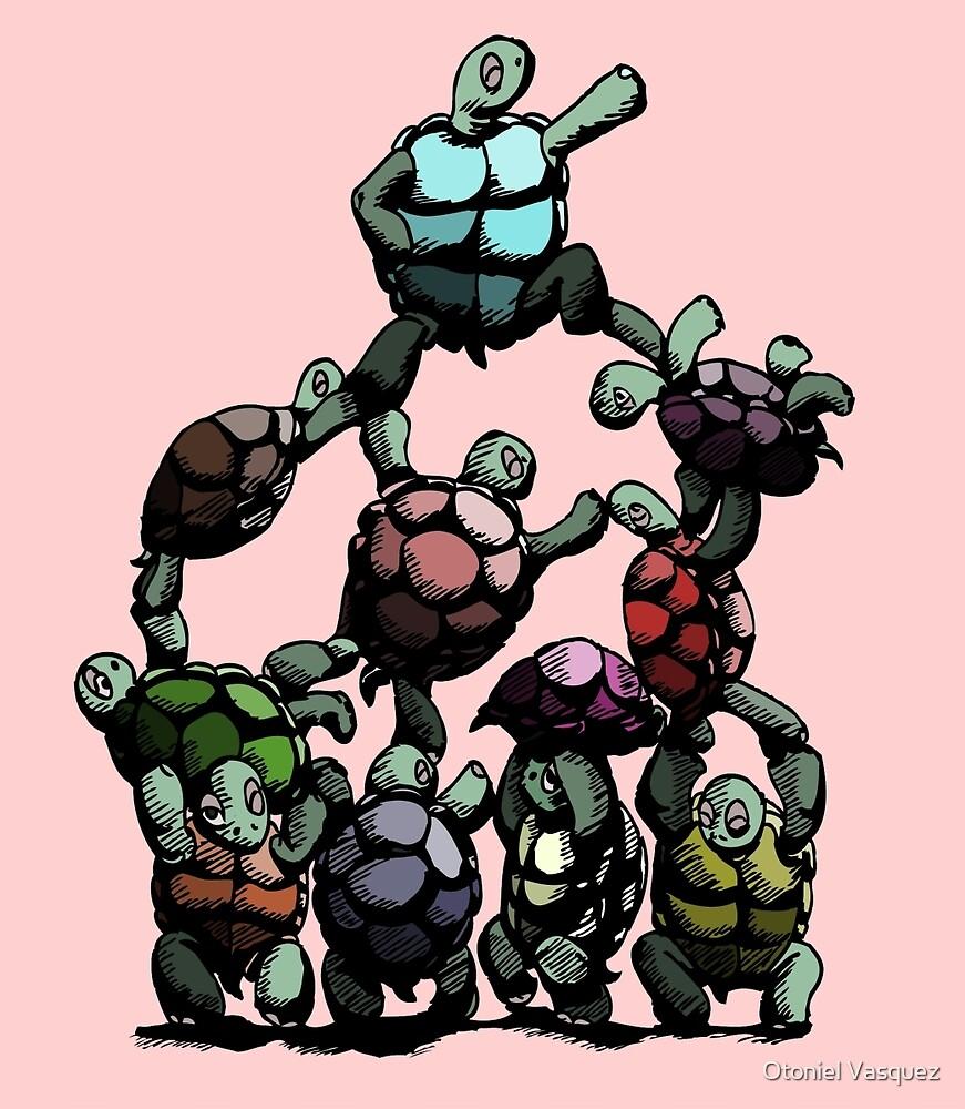 Turtles Assemble by Otoniel Vasquez