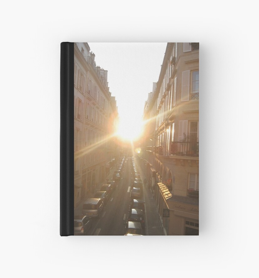 sun in a street by Pexmind