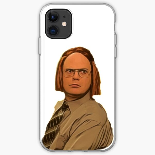 The Office Us Dwight Schrute, A fact  iPhone Soft Case