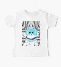 Camiseta para bebés Perro cortacésped - Rick y Morty