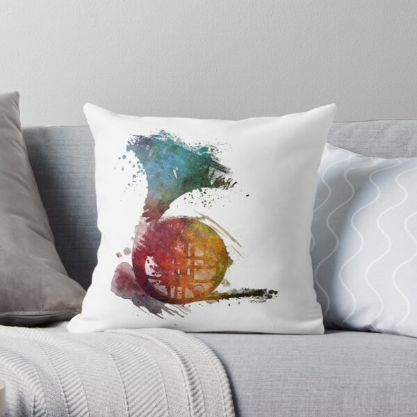 Musical Instruments Pillows Cushions Redbubble