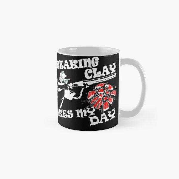 Shooting Clay PigeonTrap Target  Classic Mug