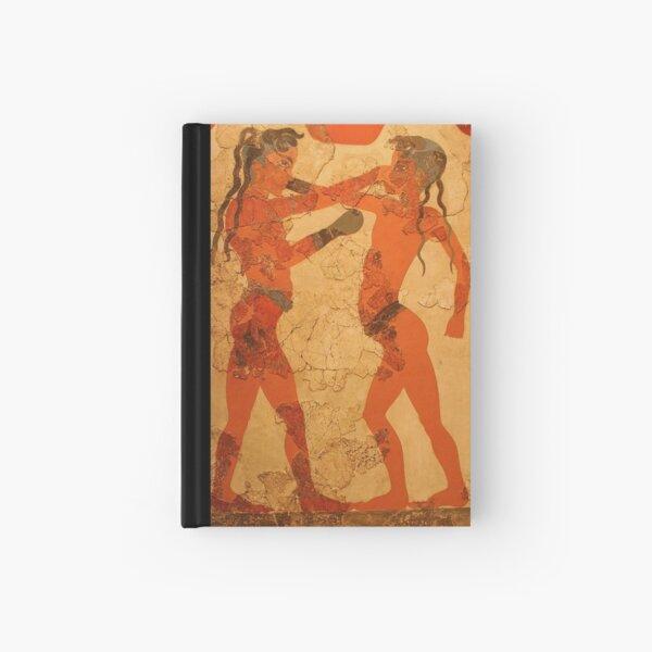 Fresco of Boxing Children Hardcover Journal