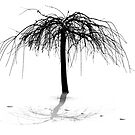 Snow, Tree, Tracks by martinilogic