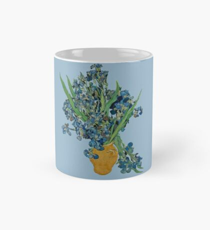 Van Gogh Iris Grunge Mug