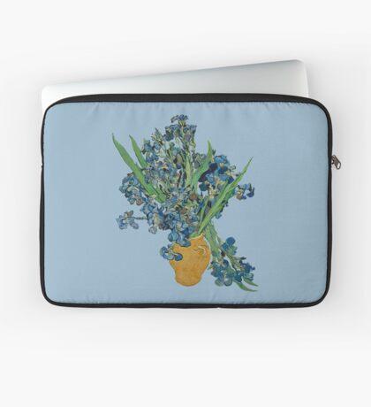 Van Gogh Iris Grunge Laptop Sleeve