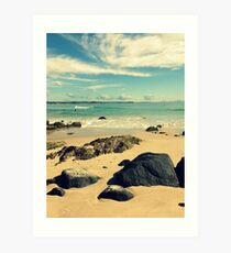 Catching Some Waves... Art Print