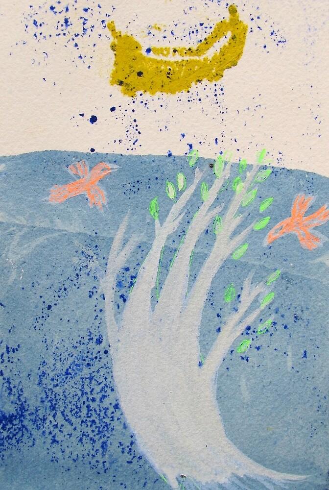 flying boat leaf by donna malone