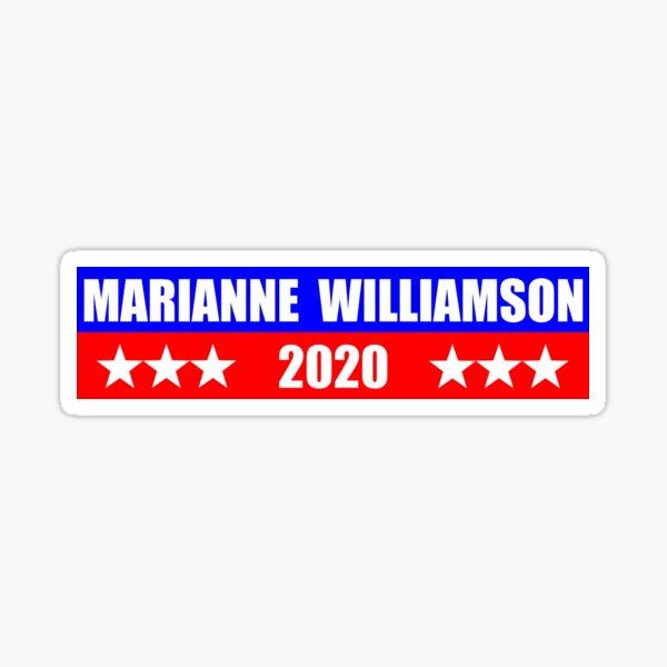 Marianne Williamson for President 2020 Sticker Decal Shirt Mug Sticker