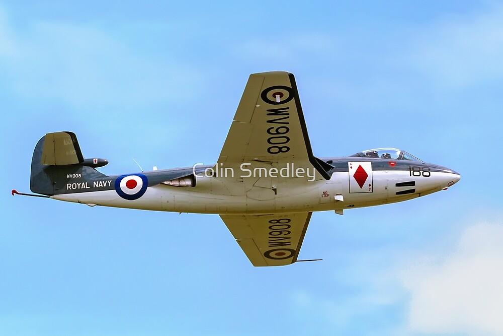 Hawker Sea Hawk FGA.6 WV908/188-A by Colin Smedley