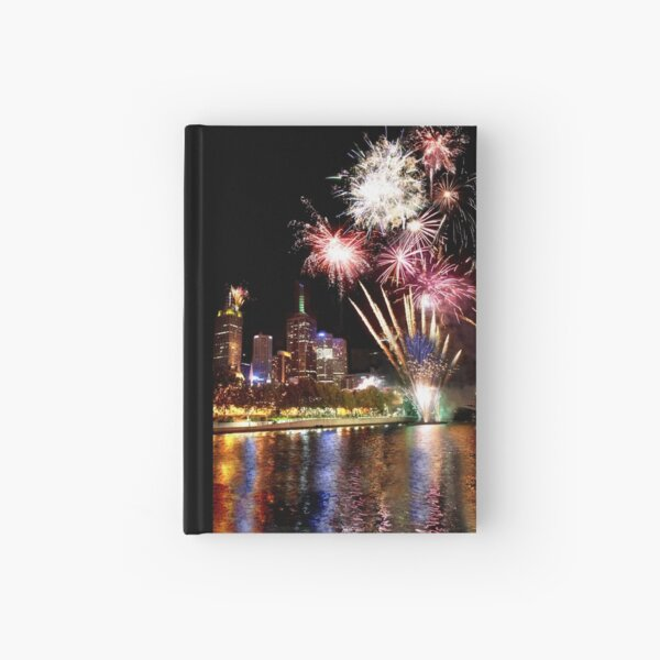 New year Hardcover Journal