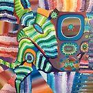 PLAYTIME original acrylic painting Unus Mundus Art by Jasmine Raskas in St. Louis  by unusmundusart