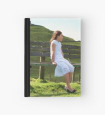 Looking out at One Tree Hill Hardcover Journal