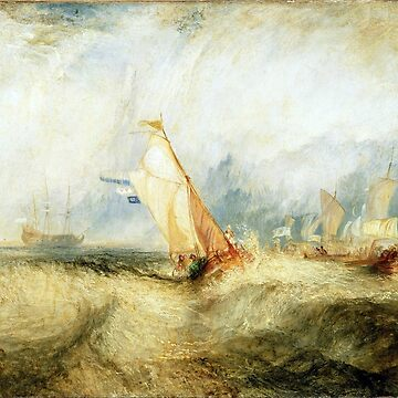 Joseph Mallord William Turner Van Tromp, Going About to Please His Masters by pdgraphics