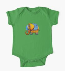 The Littlest Elephant TShirt One Piece - Short Sleeve
