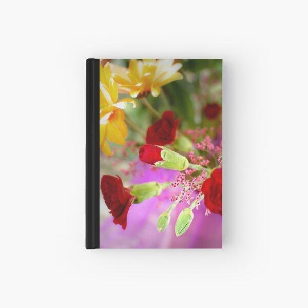Flowers In Light Hardcover Journal