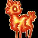 A Fiery Alpaca by Jade Damboise Rail